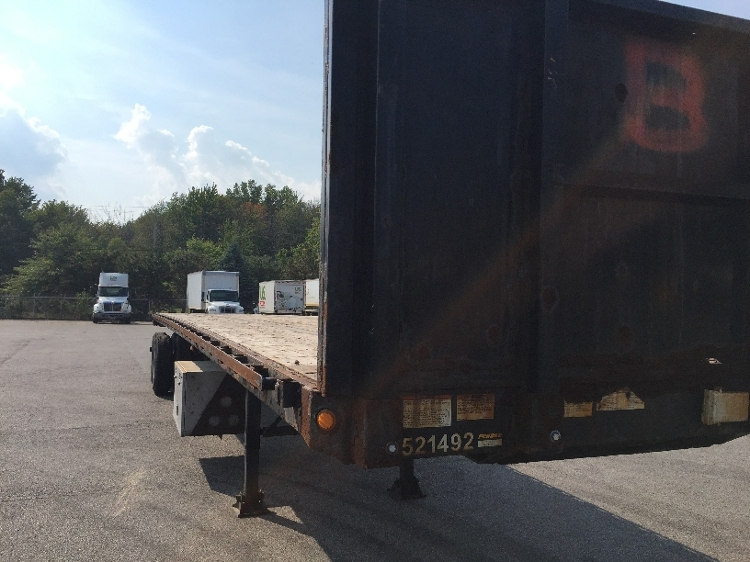 Flatbed Trailer-Semi Trailers-Great Dane-2007-Trailer-TWINSBURG-OH-497,587 miles-$9,250
