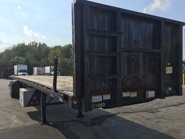 Flatbed Trailer-Semi Trailers-Great Dane-2007-Trailer-TWINSBURG-OH-343,610 miles-$10,000