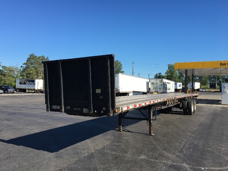 Flatbed Trailer-Semi Trailers-Great Dane-2007-Trailer-BUFFALO-NY-207,475 miles-$14,750