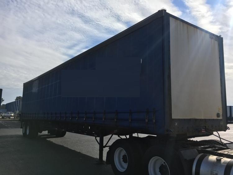 Dry Van Trailer-Semi Trailers-Nuvan-2007-Trailer-OLIVE BRANCH-MS-548,716 miles-$13,750