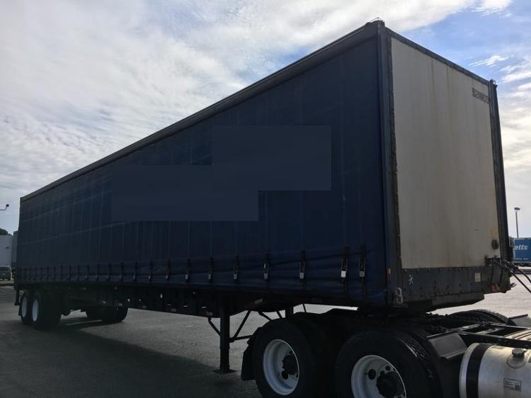 Dry Van Trailer-Semi Trailers-Nuvan-2007-Trailer-OLIVE BRANCH-MS-636,850 miles-$9,750