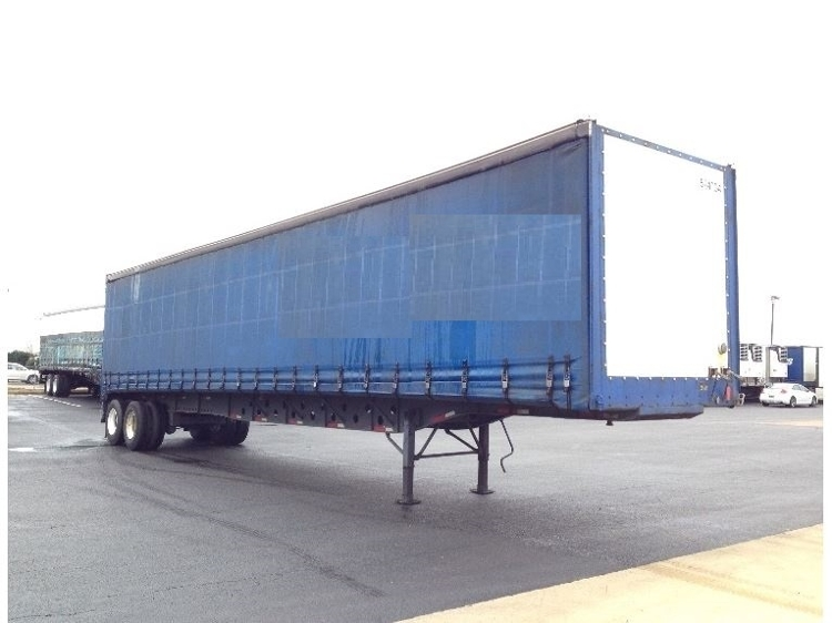 Dry Van Trailer-Semi Trailers-Nuvan-2007-Trailer-OLIVE BRANCH-MS-581,751 miles-$13,750
