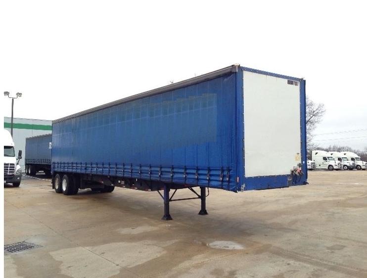 Dry Van Trailer-Semi Trailers-Nuvan-2007-Trailer-OLIVE BRANCH-MS-532,147 miles-$13,750
