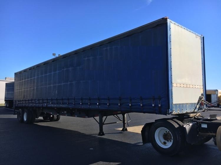Dry Van Trailer-Semi Trailers-Nuvan-2007-Trailer-OLIVE BRANCH-MS-607,176 miles-$9,750