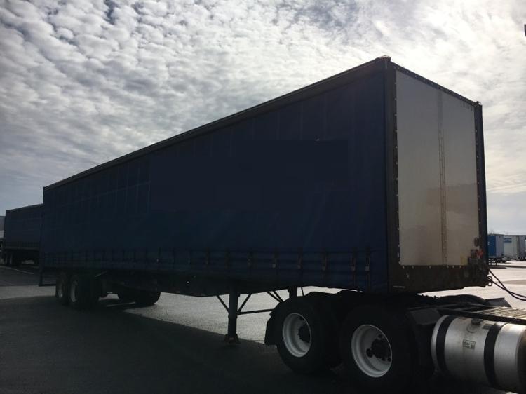 Dry Van Trailer-Semi Trailers-Nuvan-2007-Trailer-OLIVE BRANCH-MS-548,416 miles-$9,750