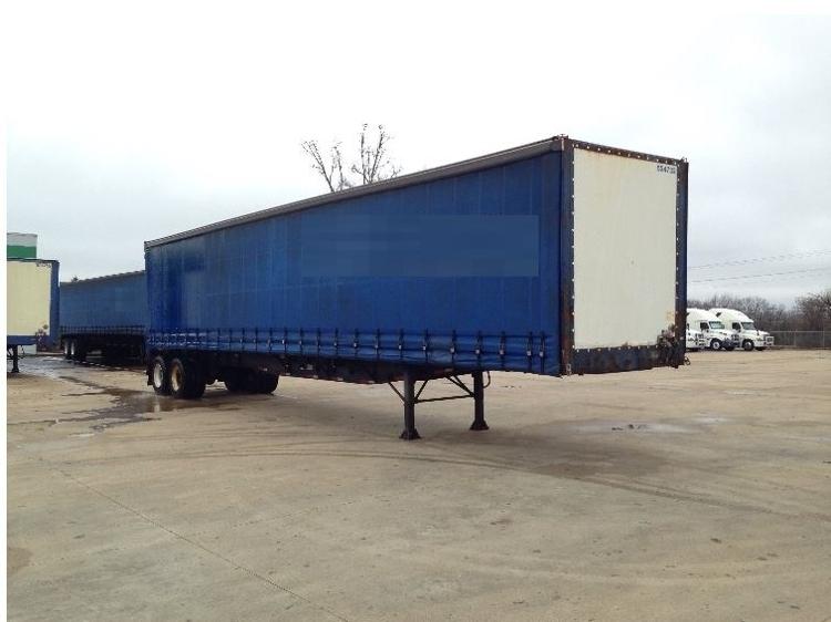 Dry Van Trailer-Semi Trailers-Nuvan-2007-Trailer-OLIVE BRANCH-MS-524,732 miles-$13,750