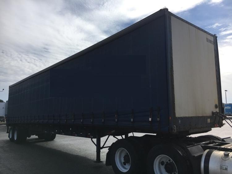 Dry Van Trailer-Semi Trailers-Nuvan-2007-Trailer-OLIVE BRANCH-MS-592,707 miles-$13,750