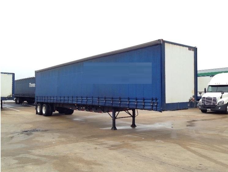 Dry Van Trailer-Semi Trailers-Nuvan-2007-Trailer-OLIVE BRANCH-MS-515,682 miles-$13,750