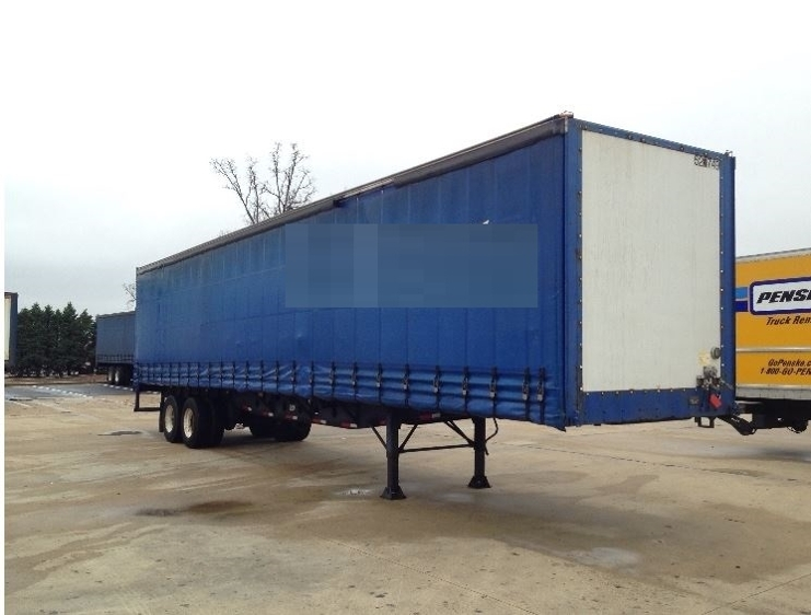 Dry Van Trailer-Semi Trailers-Nuvan-2007-Trailer-OLIVE BRANCH-MS-637,513 miles-$13,750