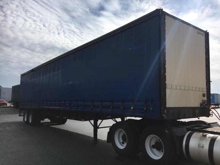 Dry Van Trailer-Semi Trailers-Nuvan-2007-Trailer-OLIVE BRANCH-MS-351,021 miles-$13,750