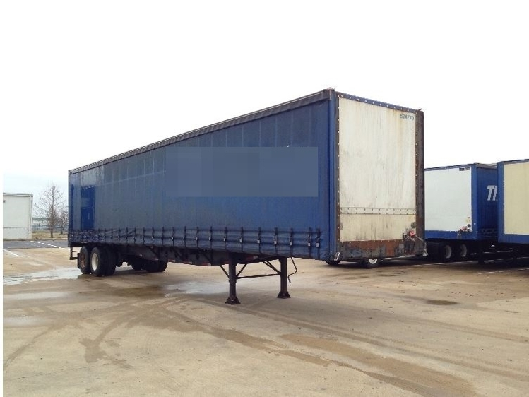 Dry Van Trailer-Semi Trailers-Nuvan-2007-Trailer-OLIVE BRANCH-MS-601,194 miles-$13,750