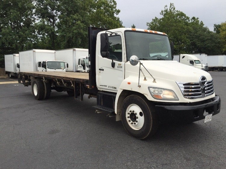 Flatbed Truck-Light and Medium Duty Trucks-Hino-2007-268-CAPITOL HEIGHTS-MD-126,248 miles-$29,500