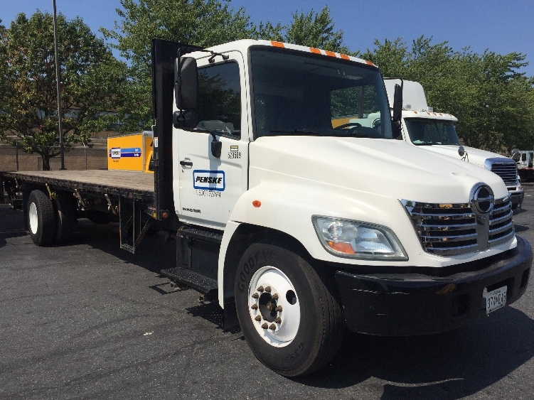 Flatbed Truck-Light and Medium Duty Trucks-Hino-2007-268-CAPITOL HEIGHTS-MD-130,283 miles-$29,250