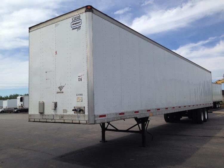 Dry Van Trailer-Semi Trailers-Trailmobile-2005-Trailer-BROOK PARK-OH-440,000 miles-$6,250