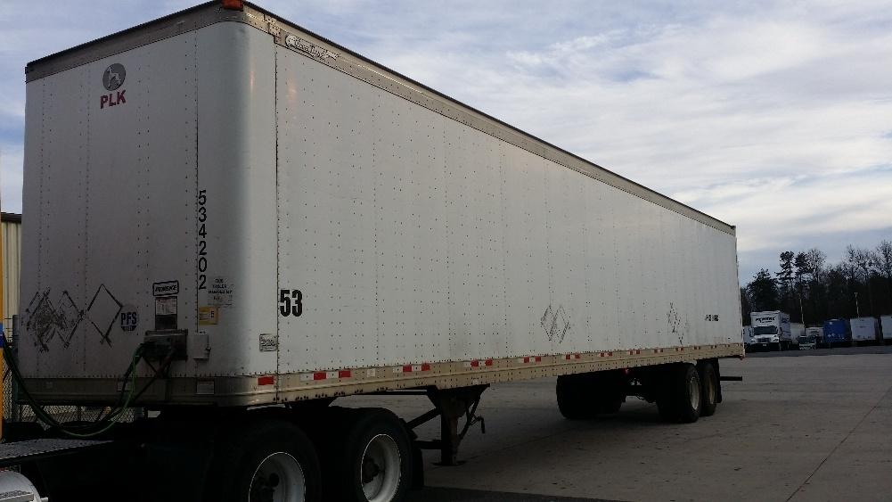 Dry Van Trailer-Semi Trailers-Great Dane-2005-Trailer-CHARLOTTE-NC-322,284 miles-$6,500