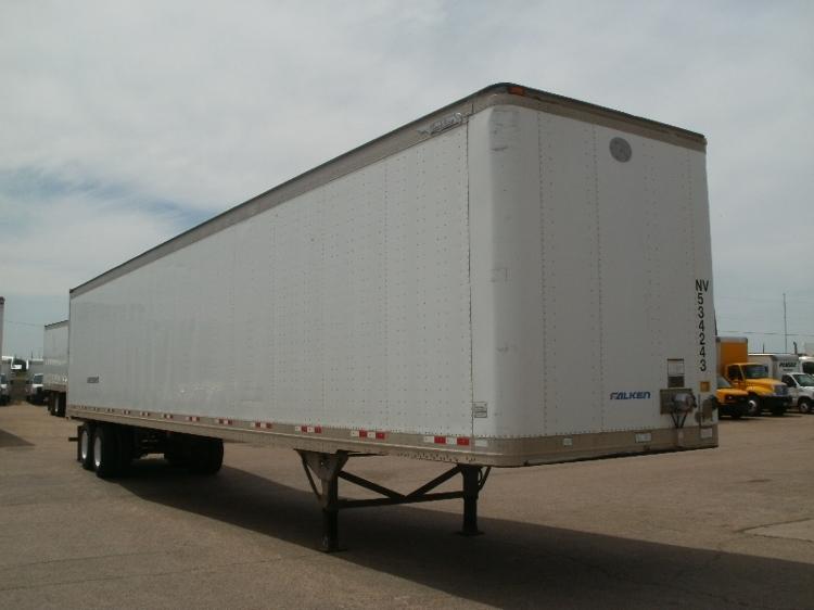 Dry Van Trailer-Semi Trailers-Great Dane-2005-Trailer-WACO-TX-293,329 miles-$10,500