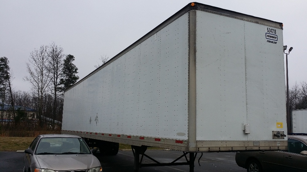 Dry Van Trailer-Semi Trailers-Trailmobile-2005-Trailer-CHARLOTTE-NC-161,800 miles-$12,750