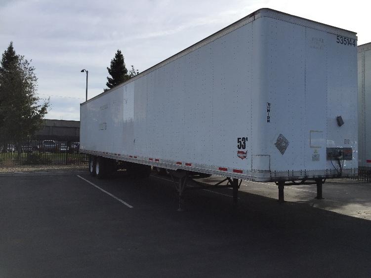 Dry Van Trailer-Semi Trailers-Wabash-2006-Trailer-SACRAMENTO-CA-333,765 miles-$16,000