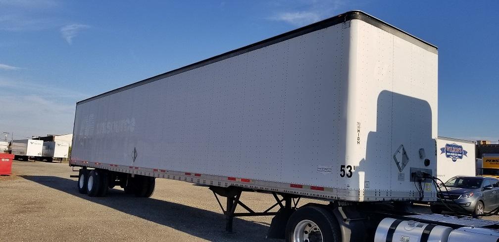 Dry Van Trailer-Semi Trailers-Wabash-2006-Trailer-PHILADELPHIA-PA-445,000 miles-$12,000