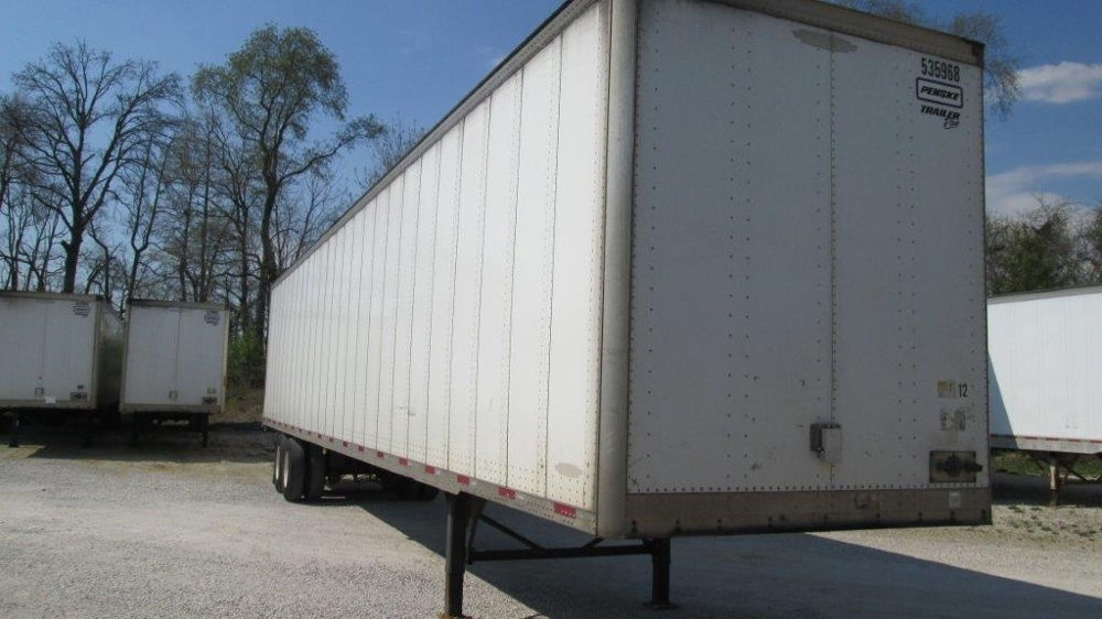 Dry Van Trailer-Semi Trailers-Trailmobile-2006-Trailer-EVANSVILLE-IN-546,152 miles-$9,750