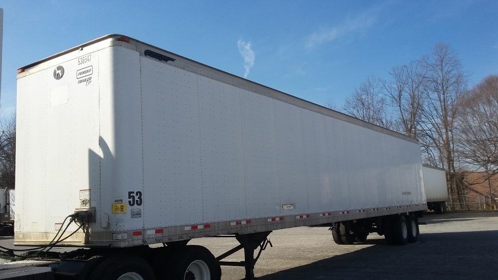 Dry Van Trailer-Semi Trailers-Great Dane-2007-Trailer-GREENSBORO-NC-976,645 miles-$15,750