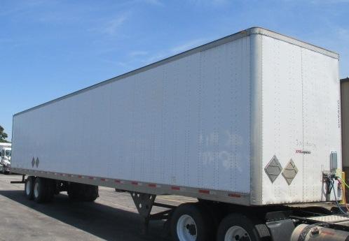 Dry Van Trailer-Semi Trailers-Utility-2007-Trailer-LINCOLN-NE-262,401 miles-$15,750