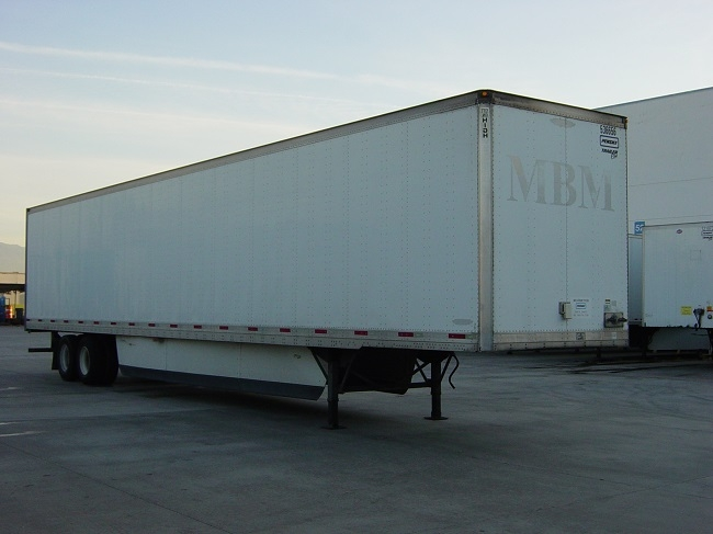 Dry Van Trailer-Semi Trailers-Trailmobile-2007-Trailer-FONTANA-CA-124,664 miles-$15,000
