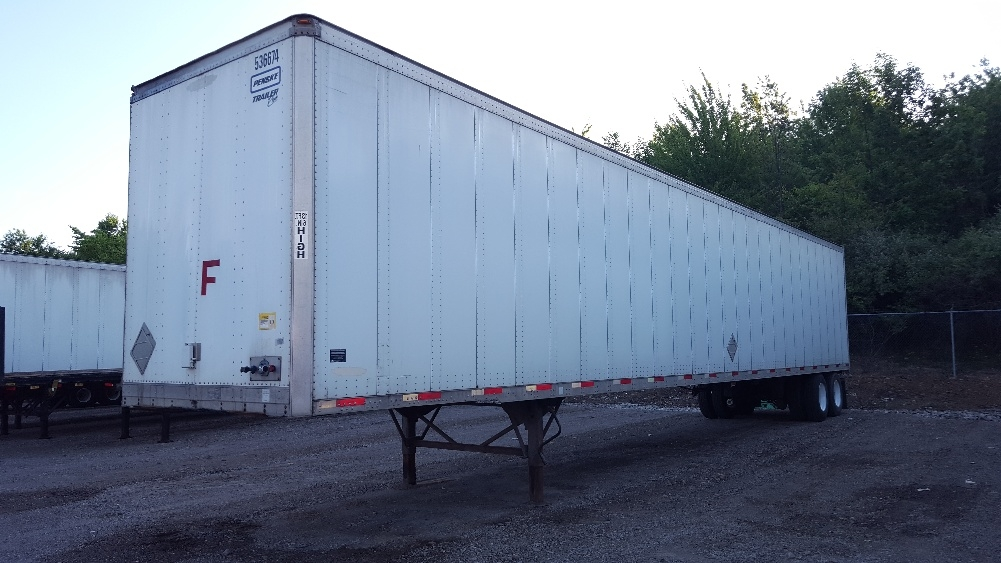 Dry Van Trailer-Semi Trailers-Trailmobile-2006-Trailer-MOUNT PLEASANT-PA-321,664 miles-$11,250