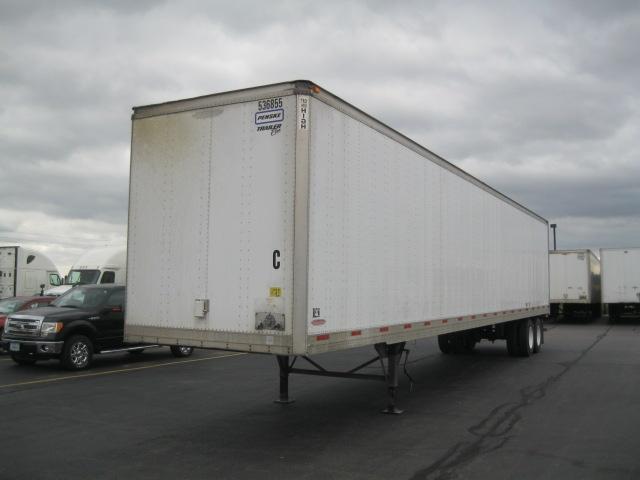 Dry Van Trailer-Semi Trailers-Trailmobile-2007-Trailer-DAVENPORT-IA-296,946 miles-$14,250