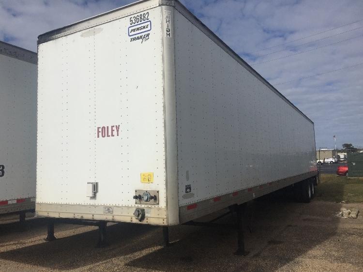 Dry Van Trailer-Semi Trailers-Trailmobile-2007-Trailer-MOBILE-AL-366,070 miles-$16,250