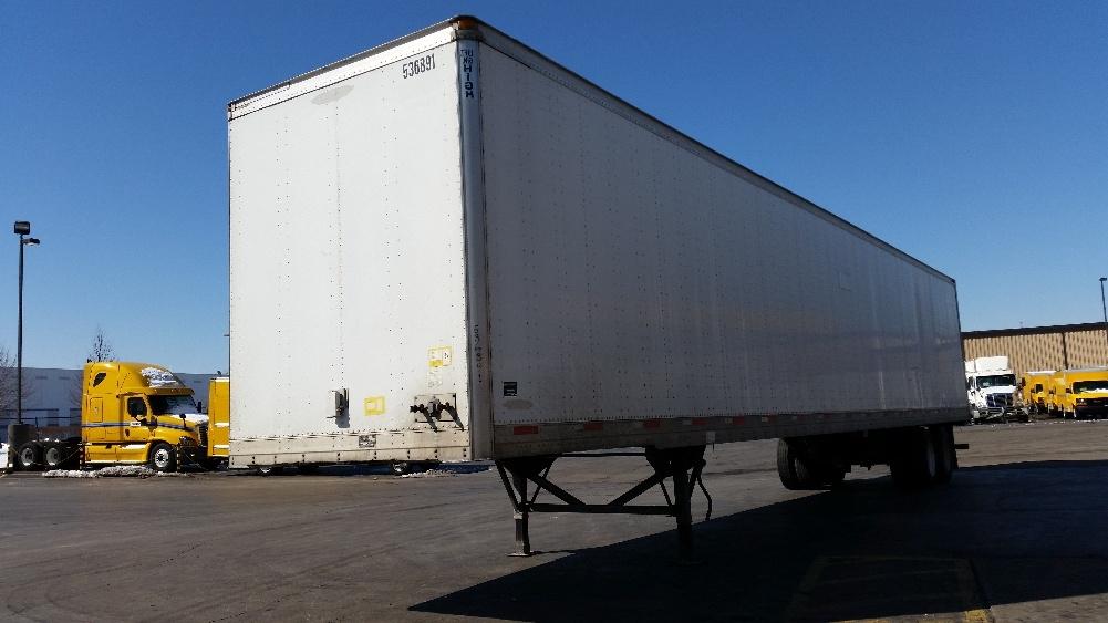 Dry Van Trailer-Semi Trailers-Trailmobile-2007-Trailer-ELK GROVE VILLAGE-IL-320,185 miles-$13,750