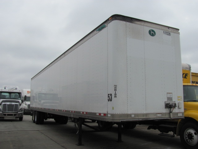 Dry Van Trailer-Semi Trailers-Great Dane-2007-Trailer-DAVENPORT-IA-617,247 miles-$14,250