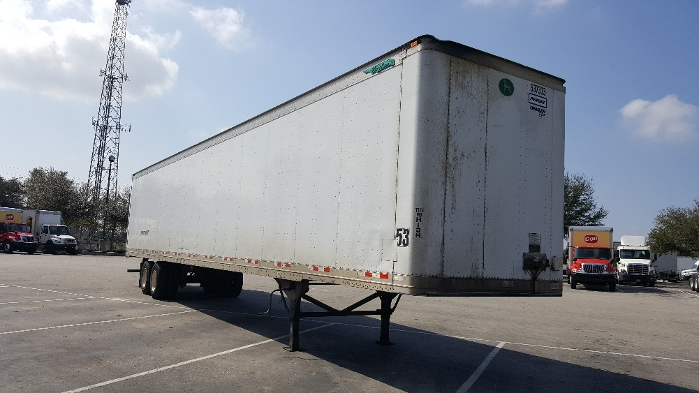 Dry Van Trailer-Semi Trailers-Great Dane-2007-Trailer-LAKELAND-FL-938,978 miles-$14,250