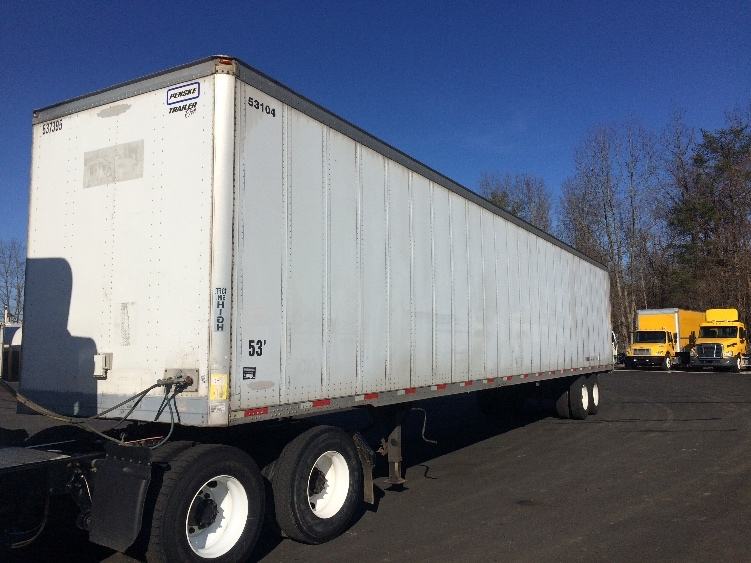Dry Van Trailer-Semi Trailers-Trailmobile-2007-Trailer-MEBANE-NC-490,000 miles-$12,750