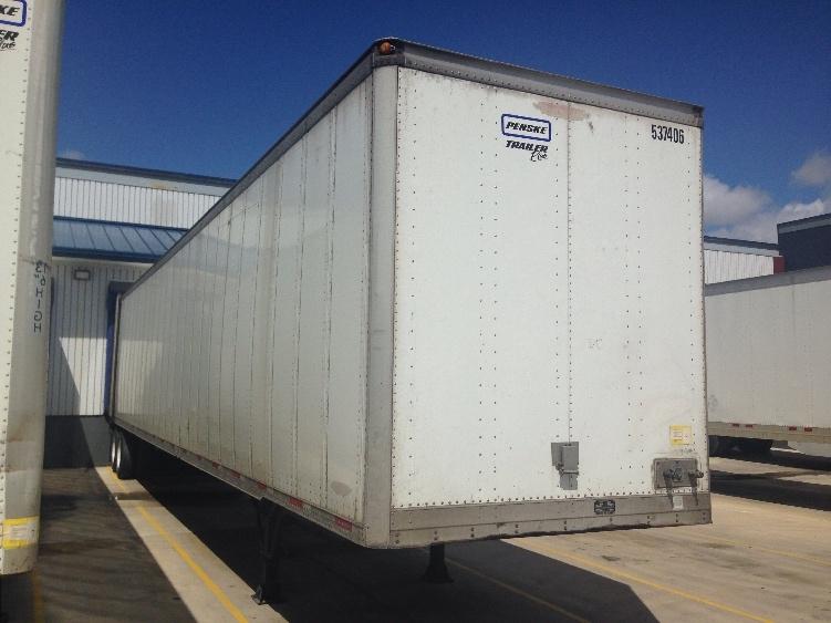Dry Van Trailer-Semi Trailers-Trailmobile-2007-Trailer-TULSA-OK-417,967 miles-$10,500