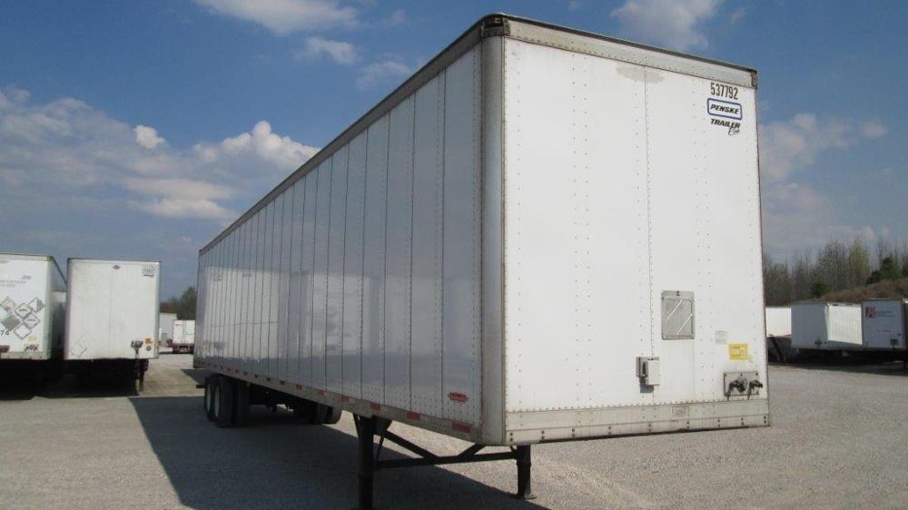 Dry Van Trailer-Semi Trailers-Trailmobile-2007-Trailer-EVANSVILLE-IN-300,334 miles-$13,750