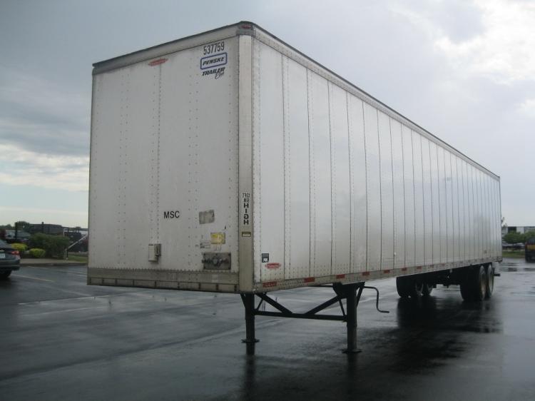 Dry Van Trailer-Semi Trailers-Trailmobile-2007-Trailer-DAVENPORT-IA-204,004 miles-$12,000