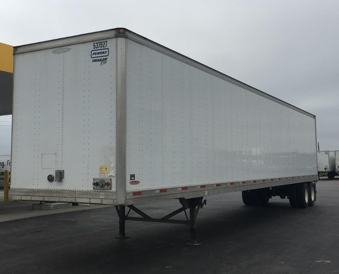 Dry Van Trailer-Semi Trailers-Trailmobile-2008-Trailer-DAVENPORT-IA-202,713 miles-$15,500