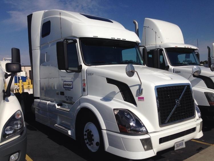 Sleeper Tractor-Heavy Duty Tractors-Volvo-2011-VNL64T670-HAMMOND-LA-466,099 miles-$37,250