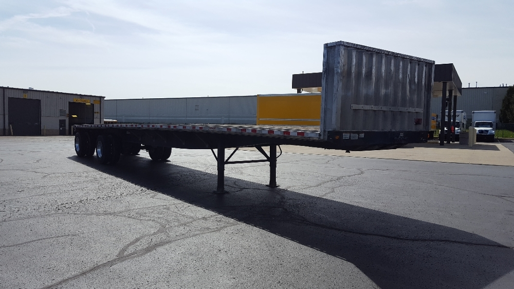 Flatbed Trailer-Semi Trailers-Great Dane-2011-Trailer-SOUTH BEND-IN-213,495 miles-$16,500