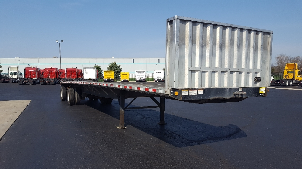 Flatbed Trailer-Semi Trailers-Great Dane-2011-Trailer-SOUTH BEND-IN-230,359 miles-$16,500