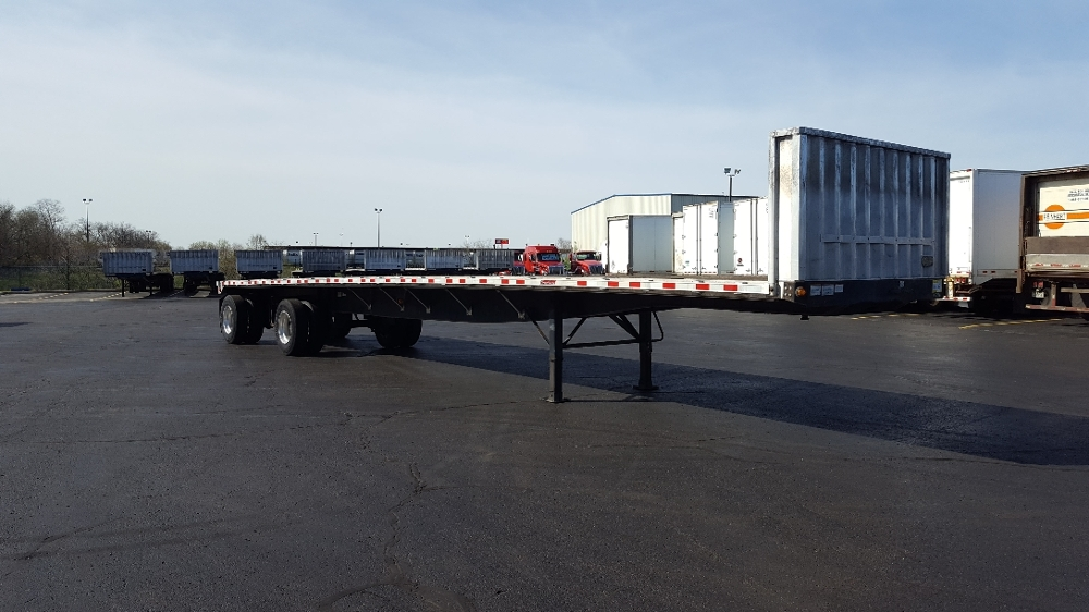 Flatbed Trailer-Semi Trailers-Great Dane-2011-Trailer-SOUTH BEND-IN-230,009 miles-$16,500