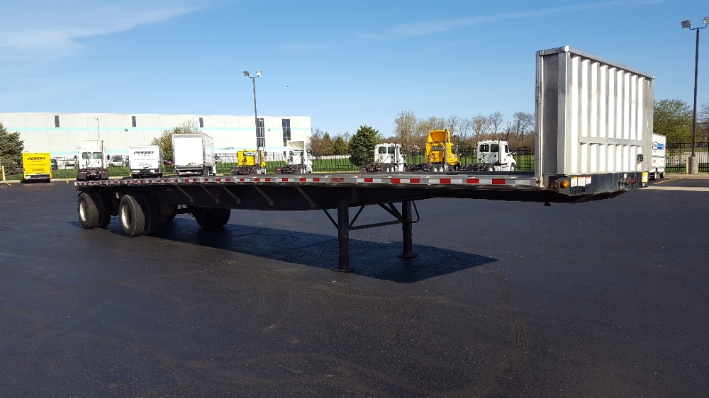 Flatbed Trailer-Semi Trailers-Great Dane-2011-Trailer-ELKHART-IN-371,936 miles-$19,000