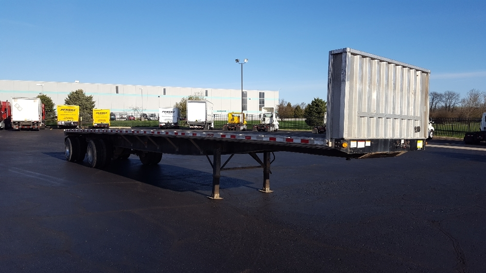 Flatbed Trailer-Semi Trailers-Great Dane-2011-Trailer-SOUTH BEND-IN-314,968 miles-$19,000