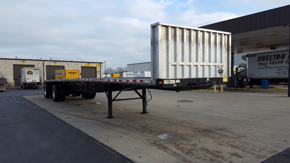 Flatbed Trailer-Semi Trailers-Great Dane-2011-Trailer-SOUTH BEND-IN-160,757 miles-$20,500