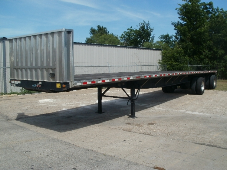Flatbed Trailer-Semi Trailers-Great Dane-2011-Trailer-WACO-TX-148,990 miles-$20,000