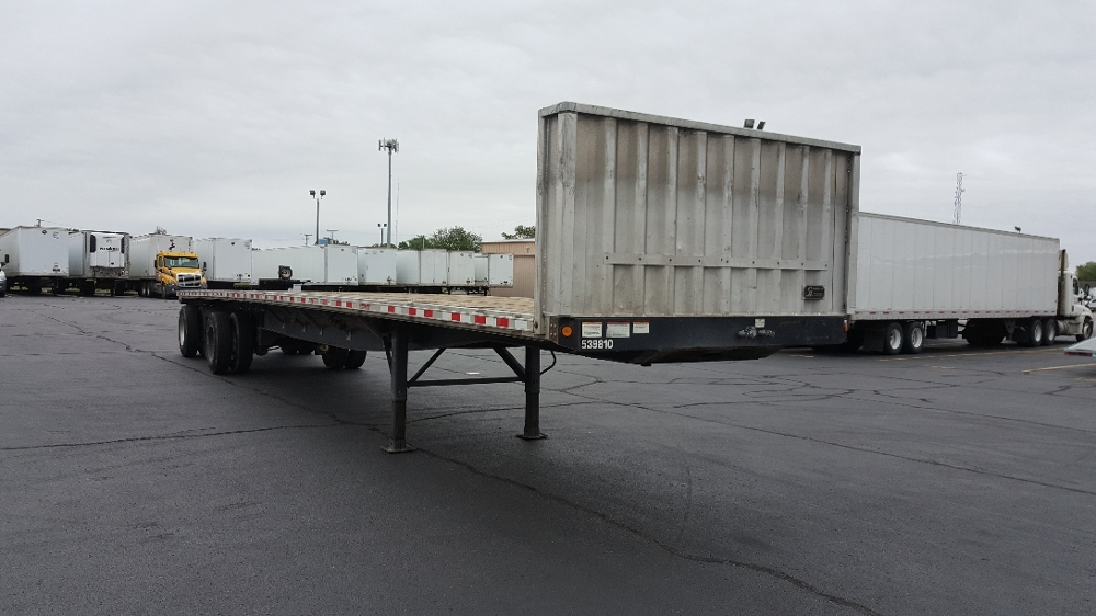 Flatbed Trailer-Semi Trailers-Great Dane-2011-Trailer-SOUTH BEND-IN-120,000 miles-$20,500