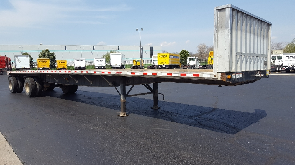 Flatbed Trailer-Semi Trailers-Great Dane-2011-Trailer-SOUTH BEND-IN-180,885 miles-$20,500