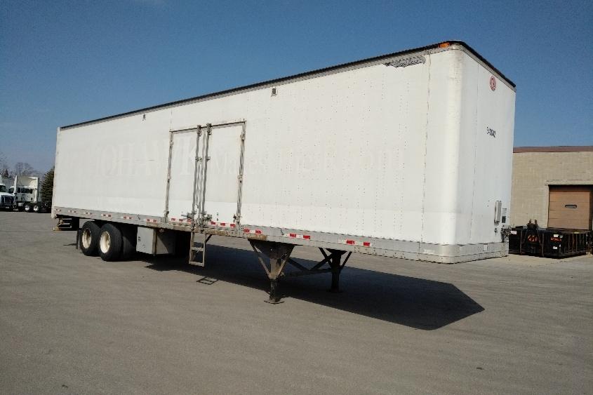 Dry Van Trailer-Semi Trailers-Great Dane-2007-Trailer-PEWAUKEE-WI-583,438 miles-$10,250