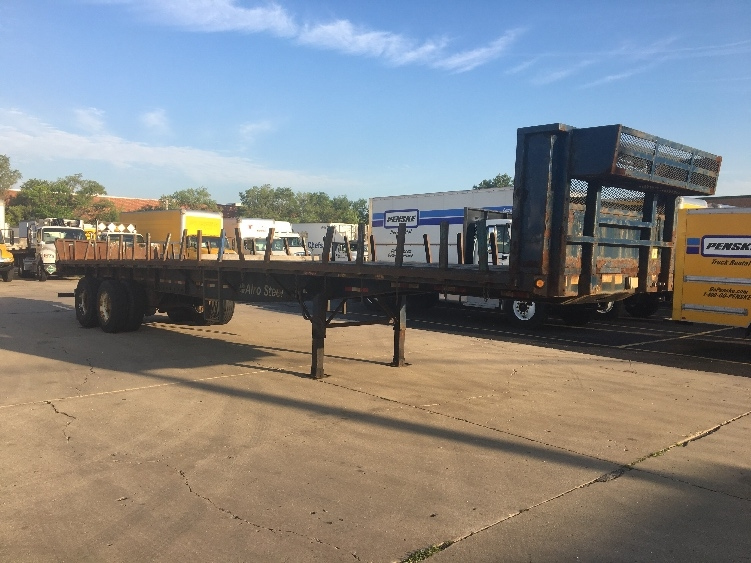 Flatbed Trailer-Semi Trailers-Great Dane-2008-Trailer-ROCKFORD-IL-356,056 miles-$10,500